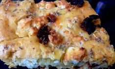 Σκορδόψωμο με θυμάρι και βασιλικό ! Quiche, Macaroni And Cheese, Recipies, Pizza, Cooking, Breakfast, Ethnic Recipes, Food, Recipes