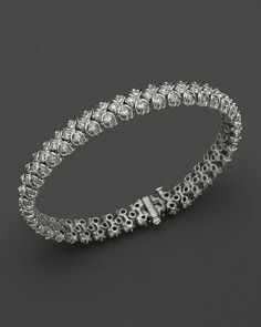 Korean Womens White Gold Plated Multiple Rows Crystal Tennis Choker Necklace