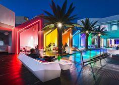 | Decoración de locales: Matisse Beach Club
