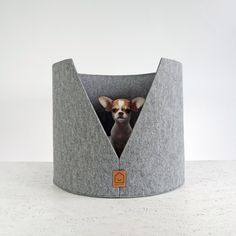 HELLO PETS is bringing modern design to the dogs with their collection of stylish beds and feeders! Cat Design, Animal Design, Cama Junior, Benny And Joon, Dog Milk, Dog Furniture, Dog Blanket, Cool Pets, Diy Stuffed Animals