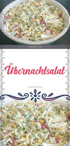 Zutaten 1 kg Chinakohl 1 Zwiebel(n) 1 Paprikaschote(n), rot 1 Paprikaschot. Chinese Cabbage, Party Buffet, Macaroni Salad, Healthy Salads, Salad Recipes, Easy Meals, Food And Drink, Stuffed Peppers, Snacks