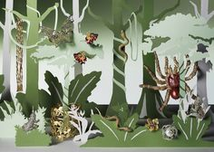 – Vanity Fair Jungle  Helen Friel illustrations