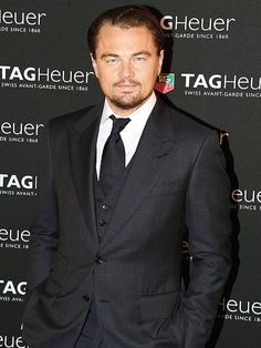 Love a man in a three piece suit... | Leonardo DiCaprio