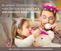 #BeCrueltyFree - support the #HumaneCosmeticsAct!