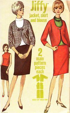 Vintage Sewing Pattern 1960s Simplicity Jiffy 6179 by paneenjerez, $10.00