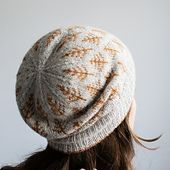 Ravelry: Trin-Annelie's Autumn Trees (Deep Woods Toque by Kiyomi Burgin)