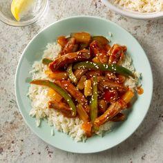 Sweet-and-Sour Pork Broccoli Recipes, Pork Recipes, Asian Recipes, Chicken Recipes, Cooking Recipes, Ethnic Recipes, Oriental Recipes, Diabetic Recipes, Pork Ham