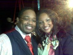 Mo with Dave Hollister