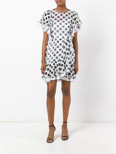 Dolce & Gabbana polka dot ruffled dress