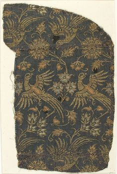 """Textile with Brocade"" 