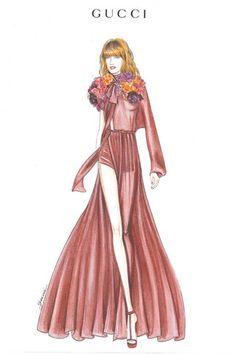 Vestuario Gucci para Florence Welch