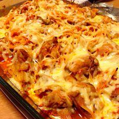 「男子ごはん」レシピ。 これもヨーグルトが肝。 - 7件のもぐもぐ - 夕餉。チキンのトマトグラタン by nuno