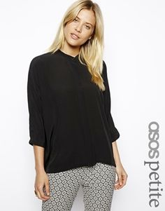 ASOS PETITE Top with Batwing Sleeve