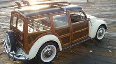 1967 VW Beetle Custom Woody