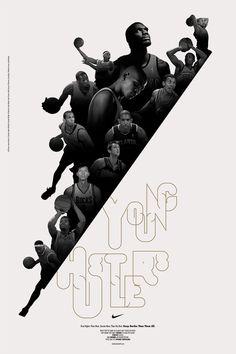 Genial poster de Nike: Young Hustlers - Frogx Three