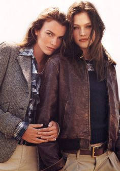 Old Ralph Lauren Adverts Androgynous Fashion, Tomboy Fashion, Fashion Outfits, Womens Fashion, Fashion Trends, Butch Fashion, Cheap Fashion, Tomboy Chic, Casual Chic