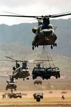 Sling-Load Operations are vital to the mission, getting key pieces of equipment on and off the battlefield...