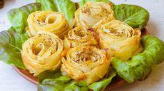 Eet aardappels eens op een andere manier! Verras je gasten met deze heerlijke kruidige aardappel roosjes!