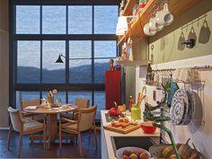 Loft Mulher Moderna - Casa Cor 2014 -  Isabela Bethônico Arquitetura. Home / Cozinha integrada / Detalhes / Cores