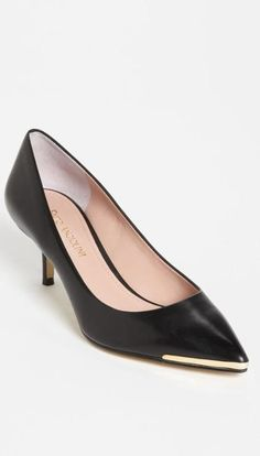 Just the right amount of heel