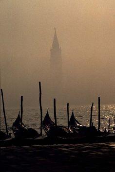 Fog, Canale Grande, Venice