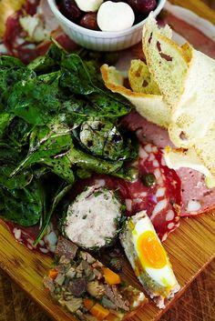 Rustic delicacies at Bread & Wine Vineyard Restaurant