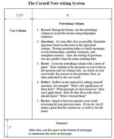Teach Your Students How To Use Cornell Notes For Increased