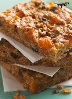 Barres granola au beurre d'arachide #recette