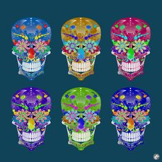 Catrina Skulls  #Catrina #Skulls
