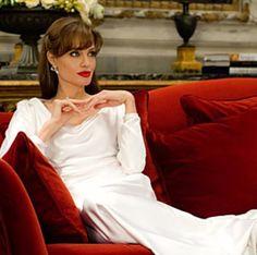 Angelina Jolie The Tourist Red lipstick