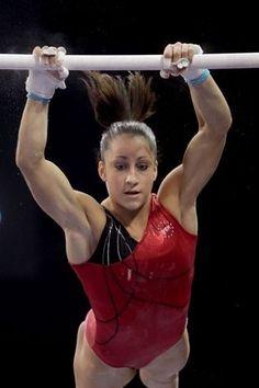 Jordyn Weiber US womens olympic hopeful.  World Champion, American Cup Champion sports