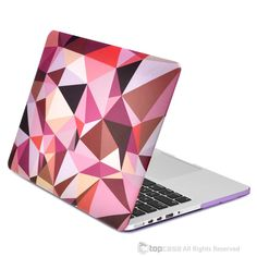 "- Geometric Abstraction Pattern Macbook Case Cover Perfect fit for Apple MacBook Pro 13.3"" with Retina Display Model: A1425 and A1502 (LASTEST VERSION) - The popular Geometric Abstraction Pattern hard"