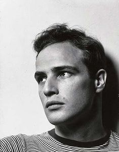 I will never understand how Marlon Brando started out like this, and ended up looking like... the Godfather.