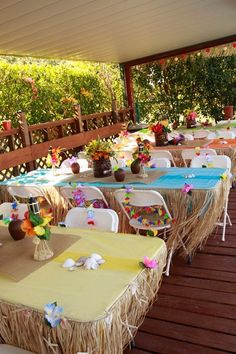 How to Plan a Luau Party Decoration Feast and Entertainment