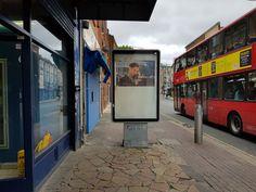 Radu Nastasia Title: Tobey Maguire Billboard installation 213 Rye Lane, Peckham, London, UK  www.radunastasia.com