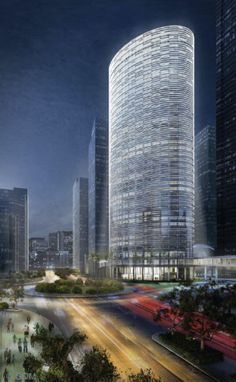 Agile Corporation Headquarters Tower, Guangzhou, China,by SOM