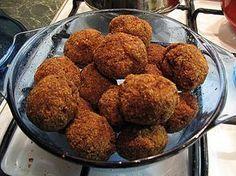 Magyar fasírt recept Hungarian Cuisine, Hungarian Recipes, Lamb, Almond, Muffin, Pork, Cooking Recipes, Meals, Dishes