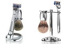 Art of Shaving. Love the brush!