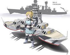 Montana Class Battleship by ushimado on DeviantArt