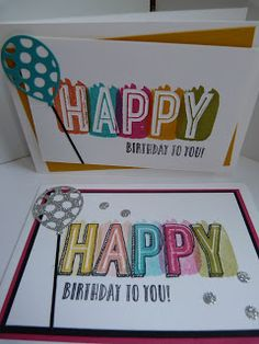 StampinClubNederland - Stampin Up! producten en workshops : Verjaardagkaarten - Happy Celebrations Stampin' Up!