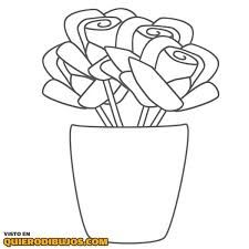 Saksi Cicek Cizimleri Ile Ilgili Gorsel Sonucu Flower Coloring Pages Rose Coloring Pages Coloring Pages For Kids