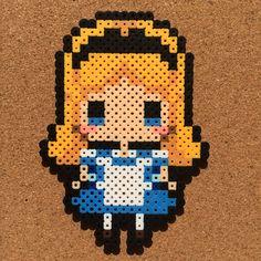 Alice in Wonderland perler beads by tsubasa.yamashita