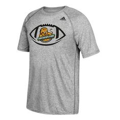 Adidas Men's Southeastern Louisiana University Sideline Pigskin T-shirt (Grey, Size Small) - NCAA Licensed Product, NCAA Men's Tops at Academy Sports