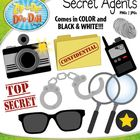 You will receive 11 clipart graphics that were hand drawn by myself – 1 Spy Camera with Flash, 1 Spy Camera without Flash, 1 Confidential Folder, 1...