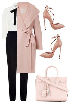 """"""""""" by loversin ❤ liked on Polyvore featuring Escada Sport, Gucci, Yves Saint Laurent and MaxMara"""