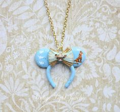 Hand crafted Blue Turquoise Mini Character by VintageLightJewelry