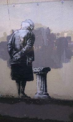 Folkestone's very own banksy. 2014