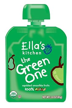 Ellas Kitchen Organic Smoothie Fruits The Green One 3 Ounce Pack of 6 -- Details can be found by clicking on the image.