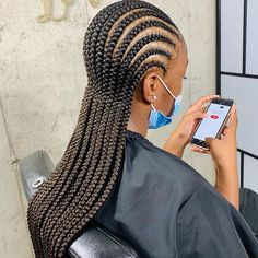 Braided Cornrow Hairstyles, Feed In Braids Hairstyles, Braids Hairstyles Pictures, Black Girl Braided Hairstyles, Black Girl Braids, Braids For Black Hair, Cool Hairstyles, Protective Hairstyles, Quick Braid Styles