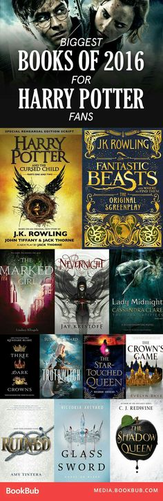 17 Books 'Harry Potter' Fans Might Have Missed This Year Searching for books to read if you like Harry Potter? These hits from 2016 are definitely books to read next in I Love Books, Good Books, Books To Read, My Books, Reading Books, Reading Lists, Book Suggestions, Book Recommendations, Books 2016